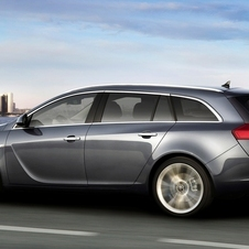 Opel Insignia Sports Tourer 2.0 Turbo Cosmo Active Select