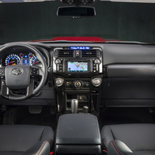 The interior is updated with high-quality materials