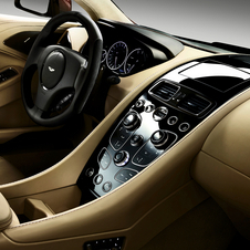 Large portions of the interior come from the One-77