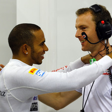 Hamilton has a long history with McLaren