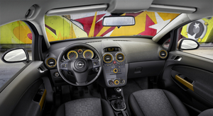Opel Corsa Kaleidoscope Gets Glossy Upgrades