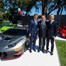 New Hurácan Super Trofeo was develloped in collaboration with Dallara