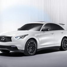 Sebastian Vettel Infiniti FX Entering Production with 420PS 5.0 Liter V8