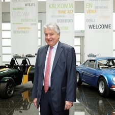 The other cars will be and SUV and subcompact with Caterham badging