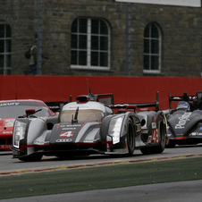 Audi is off to a commanding points lead having won the first two rounds of the WEC