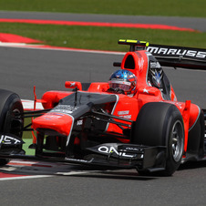 De Villota was testing and upgraded version of the MR01