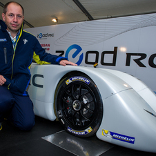 Nissan is working with Michelin on the tires for the ZEOD RC