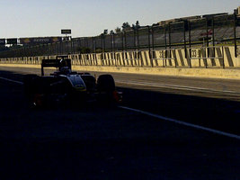 Raikkonen Takes to the Track for the First Time for Lotus