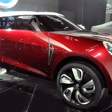Possibly the Icon's worst angle where the traditional MG design blends with chunky SUV design