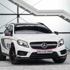 The GLA45 AMG is just a concept for now but is almost certain for production