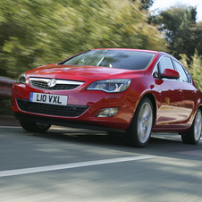 Vauxhall Astra Hatchback 1.4 87hp Exclusiv