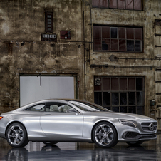 The S-Class Coupe Concept debuted at the Frankfurt Motor Show