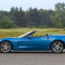 Chevrolet Corvette Convertible LT4