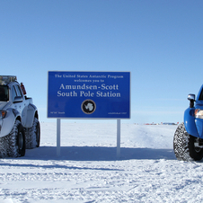 Jet-Fueled Toyota Hilux Drive 70,000km over Antarctica