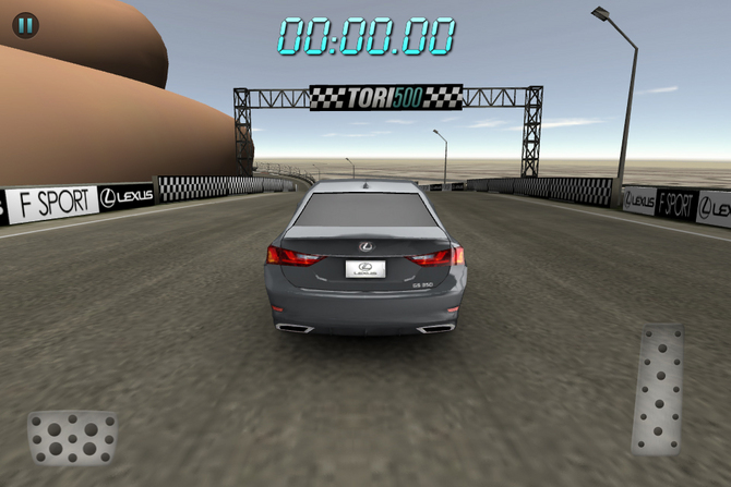 Lexus Creates iOS Game to Race GS around Swimsuit model