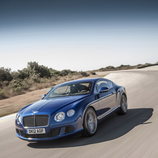 It is the fastest production Bentley ever