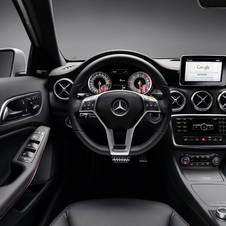 Inside, the A-Class is just as classy