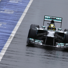 Mercedes shows again that for one lap it is fastest