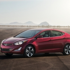 The Elantra Sedan gets a revised front fascia and the upgrades from the other cars