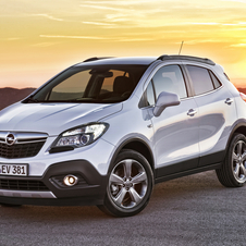 The turbocharged, all-wheel drive Mokka has been the best selling trim