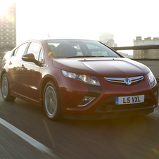 The Ampera was not allowed to use the internal combustion engine underground