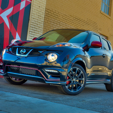 The Juke Nismo RS gets an even further power upgrade over the Nismo