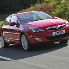 Vauxhall Astra Hatchback 1.4T Exclusiv