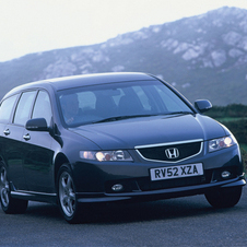 Honda Accord Wagon 24t