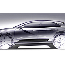 The Macan will be Porsche's compact SUV below the Cayenne