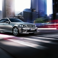 The C-Class now has coupe, sedan and estate versions