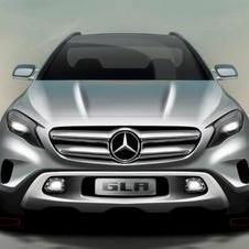 The GLA uses the same platform as the A-Class and CLA-Class