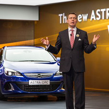 Former CEO Stracke at last year's Frankfurt Motor Show