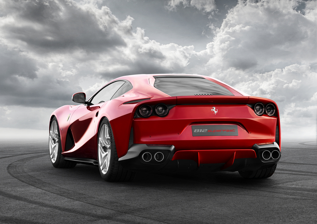 The new Ferrari model can sprint to 100km/h in 2.9 seconds and reach a top speed of more than 340km/h