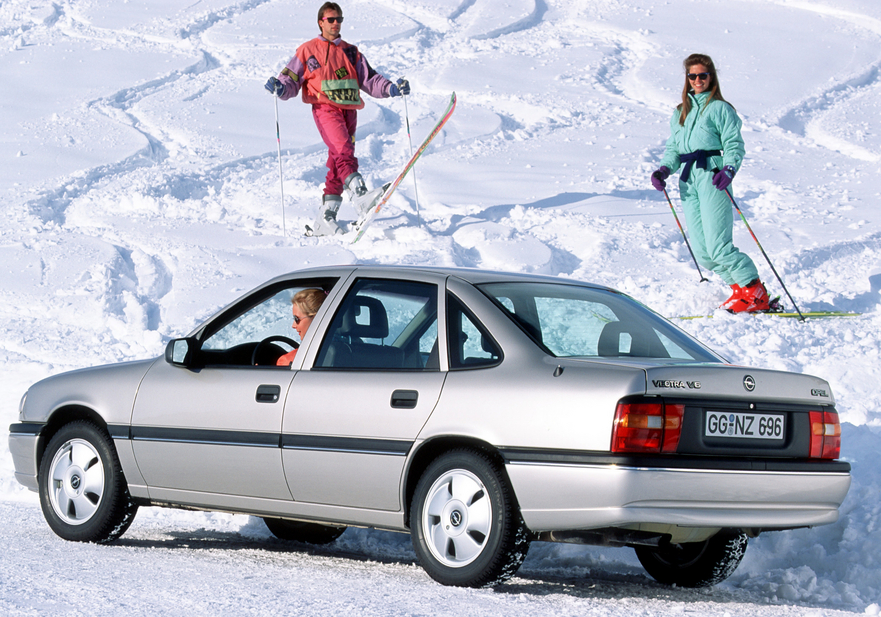 The Vectra introduced an all-wheel drive system to the Opel lineup