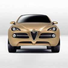 Alfa Romeo's modern SUV has not been seen yet, but it showed the Kamal concept in 2003