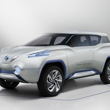 Nissan says that the tech in the TeRRA is not production ready but possible
