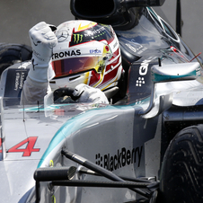 This is the 41st victory for the british driver