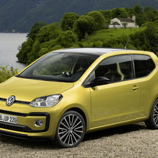 Volkswagen Up 1.0 ECO high up!