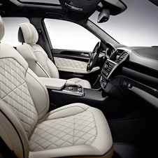 Massaging leather seats are also an option
