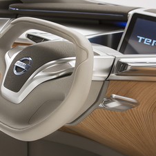 Nissan is using the TeRRA to show future technology