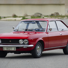 It was based on the Fiat 124