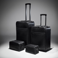The special edition comes with a set of four pieces of luggage designed by Beckham.