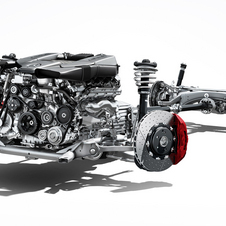 The smaller engine requires less space and will be cleaner in terms of emissions