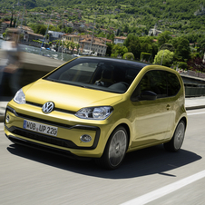 Volkswagen Up 1.0 high up! BlueMotion