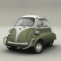 The three-wheeled micro car is probably the most iconic amongst the vintage bubble cars.