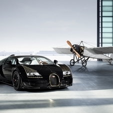 The Black Bess Bugatti Legend is based on the 1200PS Veyron 16.4 Grand Sport Vitesse