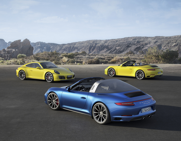The new Carrera 4 and Targa 4 also get the adaptive PASM chassis included as standard