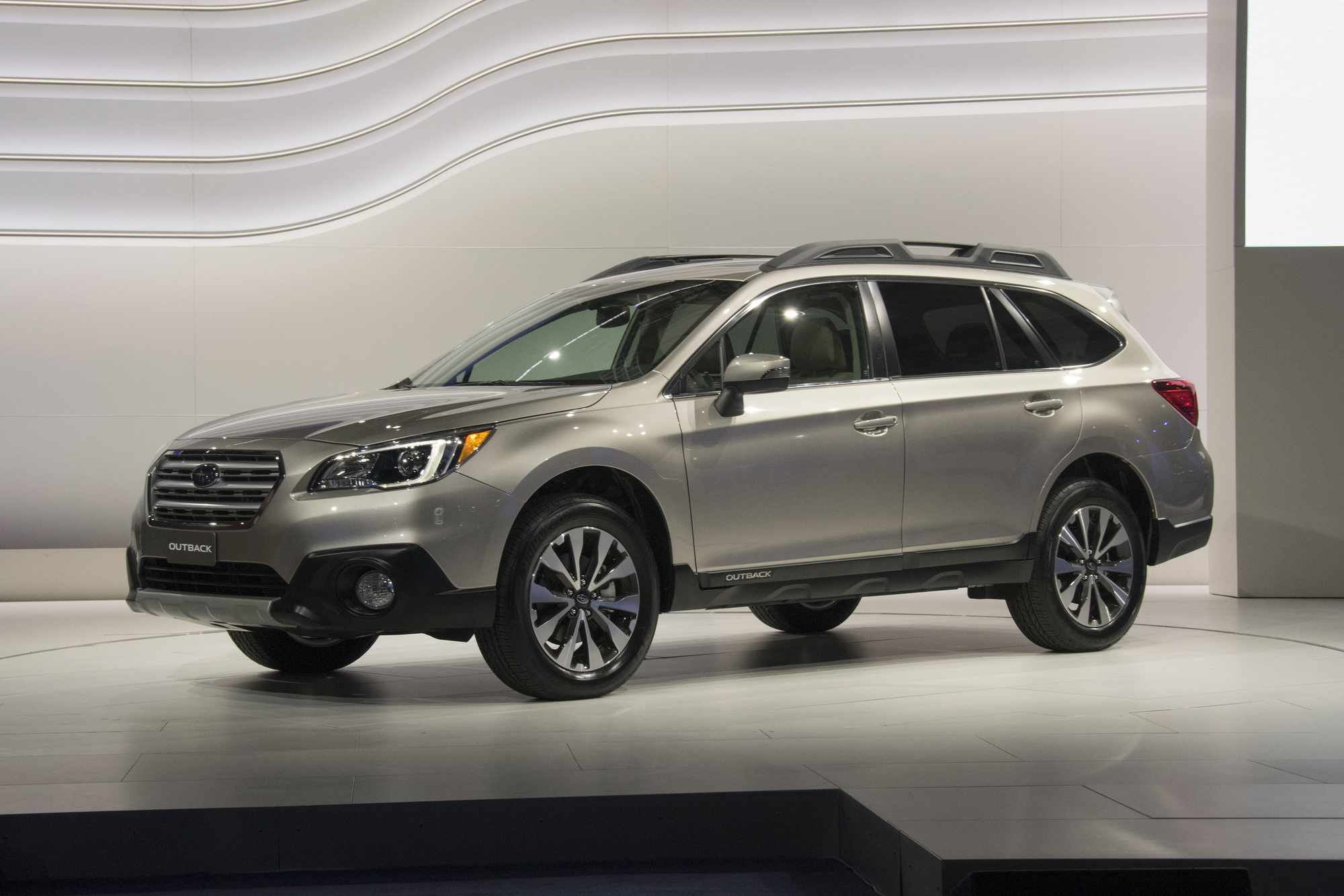 The new Outback was unveiled by Subaru as a more robust station wagon variant of the Legacy