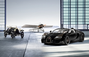 Built during the pre-war era, the Bugatti Type 18 became at the time one of the brand's most important cars