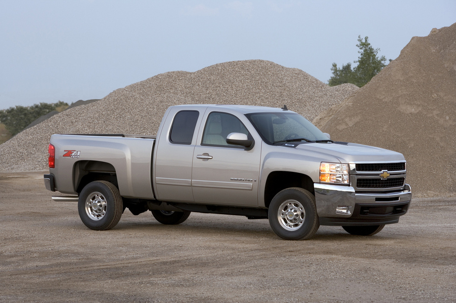 Chevrolet Silverado 2500HD Extended Cab 2WD LTZ Long Box